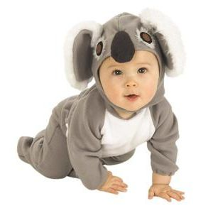 Disfraz bebe koala (pelele)