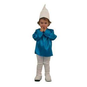 Disfraz enanito azul-pitufo