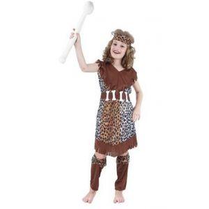Disfraz cavernicola niña