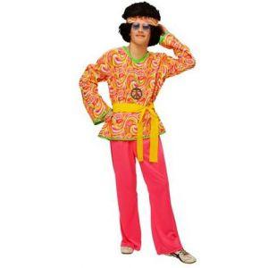 Disfraz hippie hombre bt