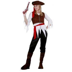 Disfraz piratesa caribeña