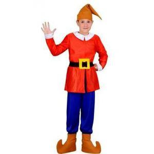 Disfraz enanito rojo inf.