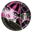 Platos monster high 23 cm (8 unid)