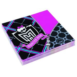 Servilletas monster high (20 unid)