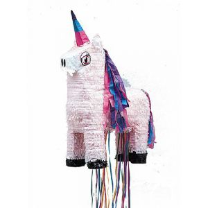 Piñata unicornio tiras volumen