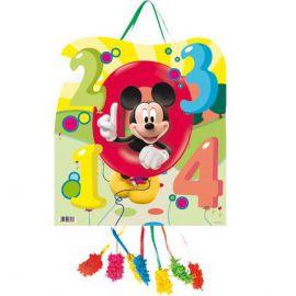 Piñata mickey numeros