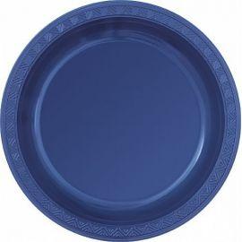 Platos azul marino 23 cm (8 unid)
