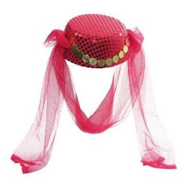Sombrero arabe con velo