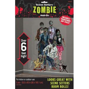 Decoracion pared zombie