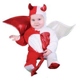 Disfraz bebe angel y demonio