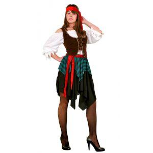 Disfraz piratesa adulto bt