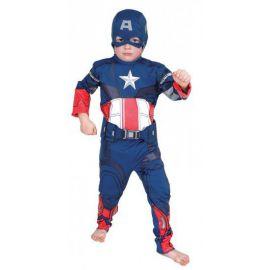 Disfraz capitan america ni?o classic