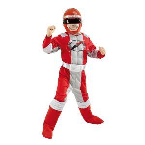 Disfraz power ranger rojo