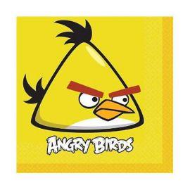 Servilletas angry birds (16 unid)