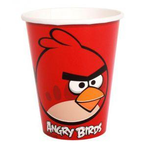 Vasos angry birds (8 unid)