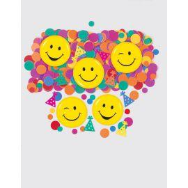 Confetti mix smiles