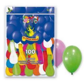 Globos colores surt (pack 100 unid.)