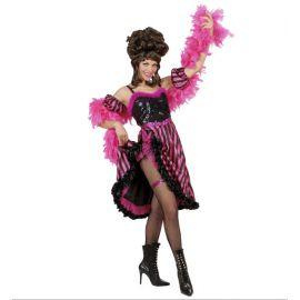 Disfraz bailarina can can adulto