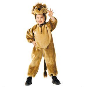 Disfraz leon peluche 3-4 4-5