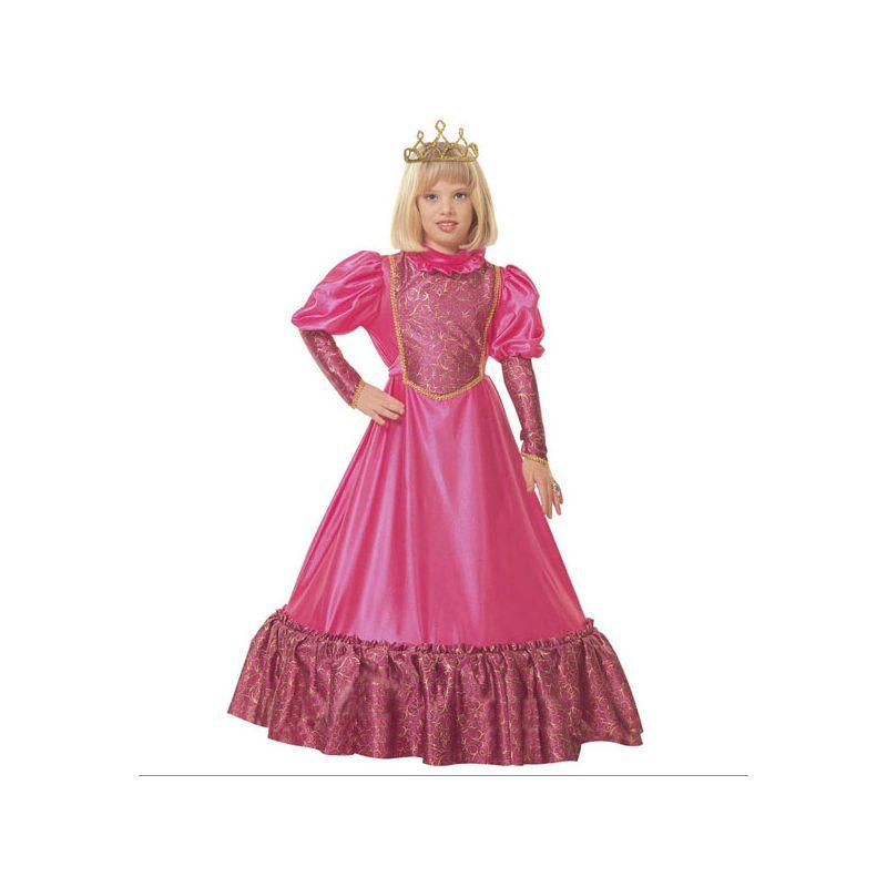 disfraz princesa medieval para ni as de 5 a 13 a os