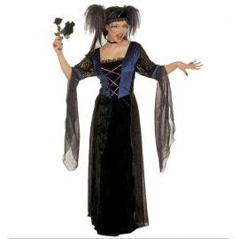 Disfraz princesa gotica adulto