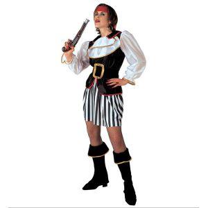 Disfraz piratesa adulto