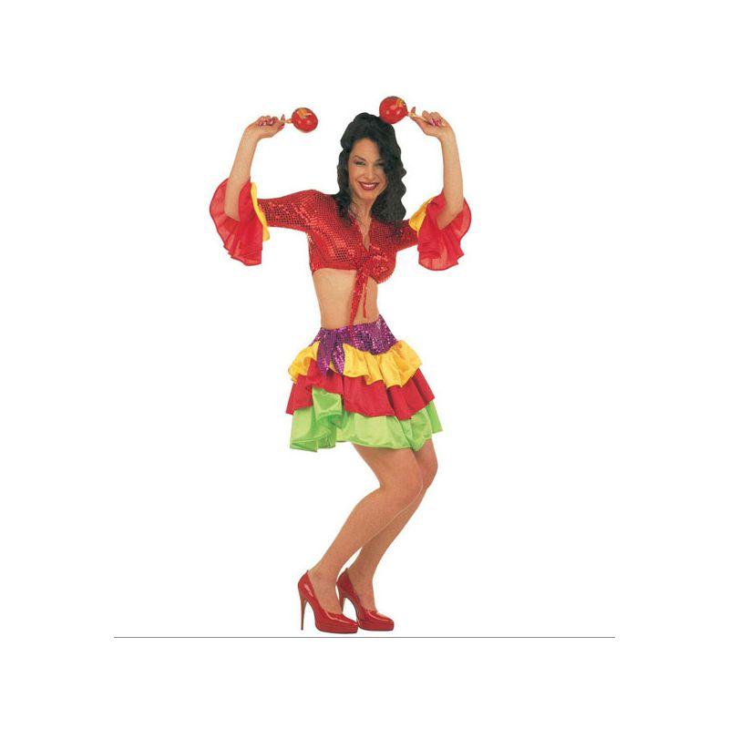 Disfraz rumbera adulto - Barullo.com