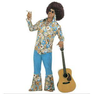 Disfraz hippie chico xl