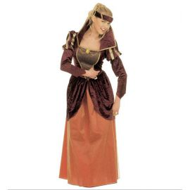 Disfraz reina medieval xl