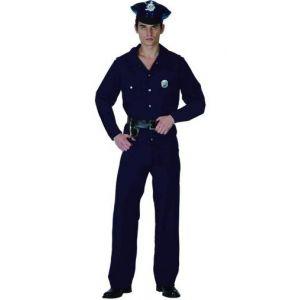 Disfraz policia adulto hombre