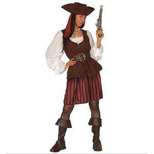Disfraz piratesa deluxe