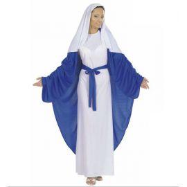Disfraz virgen maria adulto