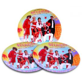 Platos 23 cm high school musical (8 uds)
