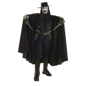 Disfraz V de Vendetta gran edición lujo