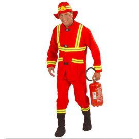Disfraz bombero adulto