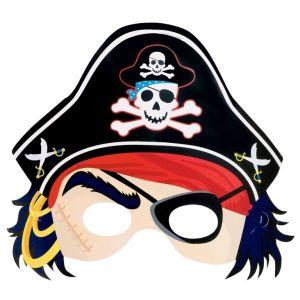 Mascara pirata carton