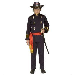 Disfraz general confederado infantil