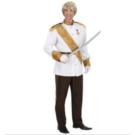 Disfraz principe de cuento hombre adulto