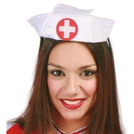 Tocado cofia enfermera