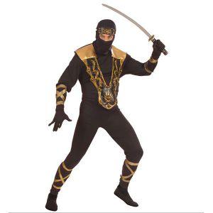 Disfraz ninja deluxe adulto