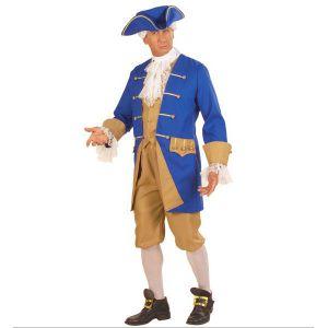 Disfraz soldado colonial adulto hombre