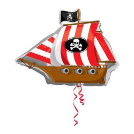 Globo helio barco pirata