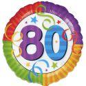 Globo helio 80 años