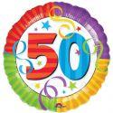 Globo helio 50 años