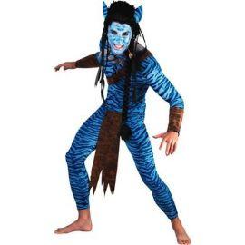 Disfraz guerrero avatar hombre