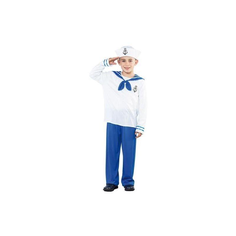 Disfraz marinero ni os de 4 a 9 a os - Disfraz de marinero casero ...