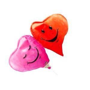 Globo helio mini doble corazon