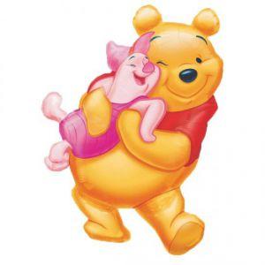 Globo helio pooh abrazo