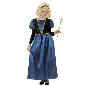 Disfraz princesa azul de 5 a 13 a?os