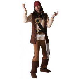 Disfraz jack sparrow deluxe
